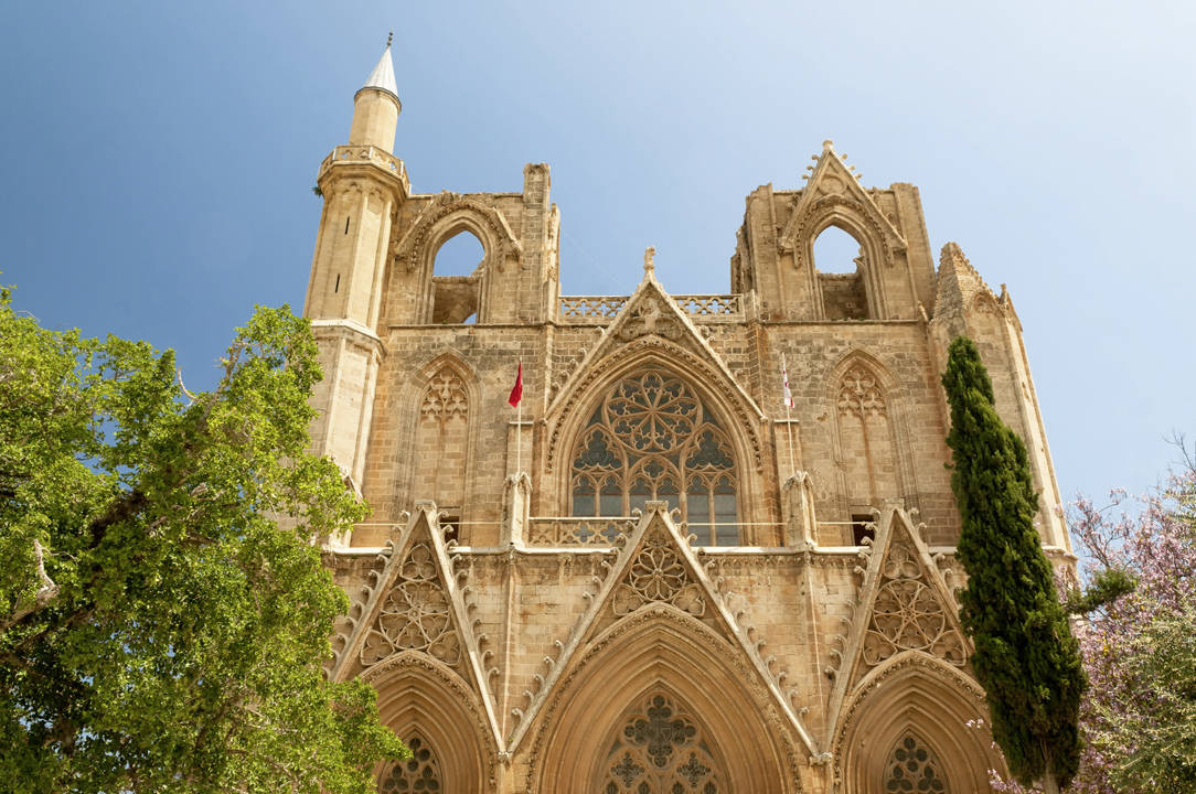 St. Nicholas' Cathedral (Lala Mustafa Mosque). Famagusta_Zypern