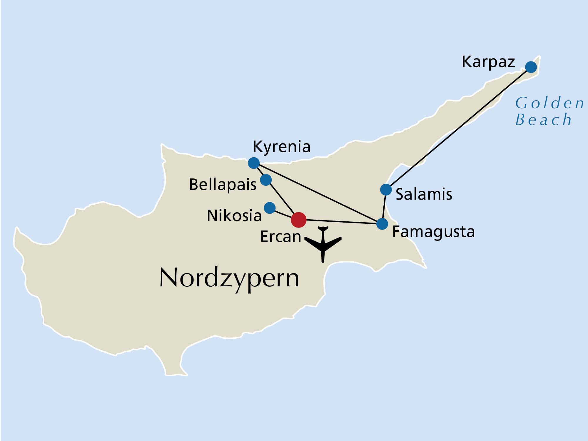 Rundreise Zypern